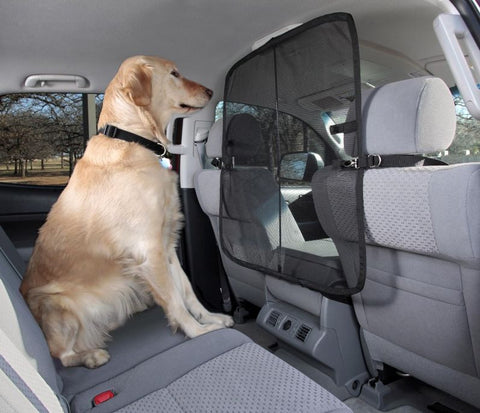 Solvit Front Seat Net Pet Car Barrier For Dogs - Hunter K9 Gear