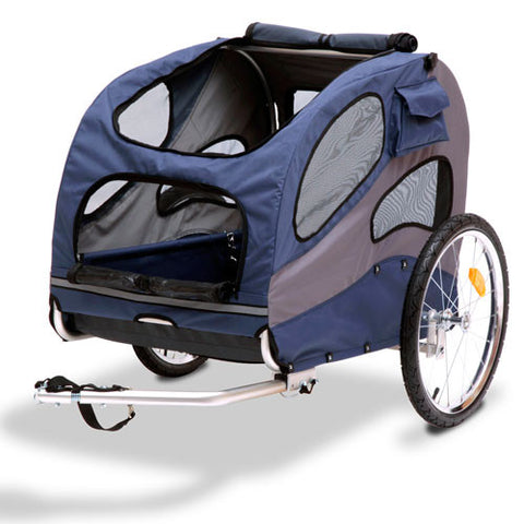 Solvit HoundAbout Classic Pet Bicycle Trailer, Steel - 2 sizes - Hunter K9 Gear