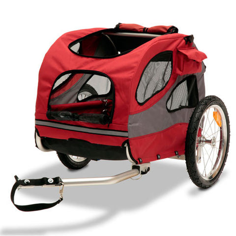 Solvit HoundAbout II Bicycle Trailer, Aluminum - 2 sizes - Hunter K9 Gear