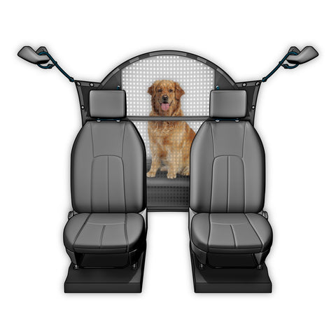 "Pet Net Mesh Barrier for SUV / Car / Truck / Van - behind front seat 50""W - Hunter K9 Gear"