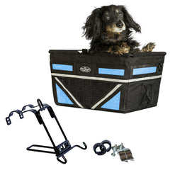 2019 Large Pet-Pilot® MAX  Dog Bike Basket Carrier | 9 color options for your bicycle - Hunter K9 Gear