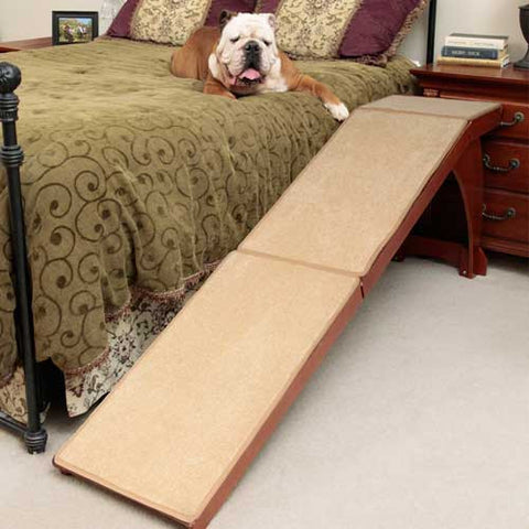 Solvit Wood Bedside Dog Ramp - Hunter K9 Gear