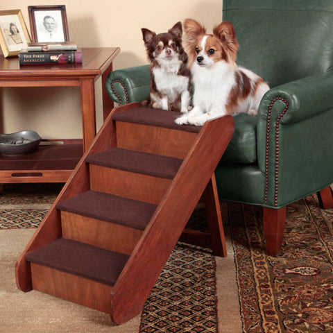 Solvit PupSTEP Wood Stairs - Hunter K9 Gear