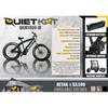 Image of QuietKat FatKat 48V 1000W Internal Motor Carbon Belt Drive Electric Mountain Bike - Black