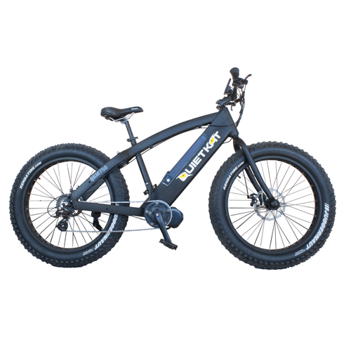 QuietKat FatKat 750 Watt Electric Mountain Bicycle - Chargd Electric Bikes