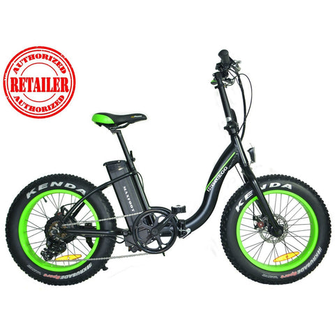 AddMotor MaxFoot 48V 500W Folding Fat Tire Electric Bike