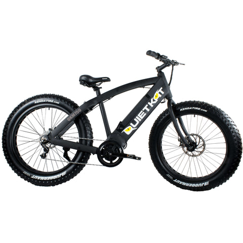 QuietKat FatKat QKEco750 48V 750W Internal Motor Chain Drive Electric Mountain Bike
