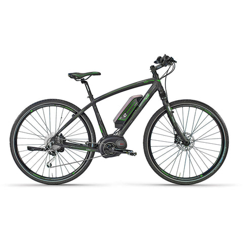 "Lombardo E-Amanatea Electric Hybrid Road Bike 28"" Tires 22"" Frame - Chargd Electric Bikes"