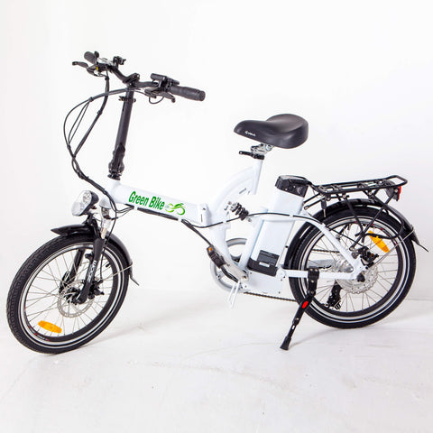 Green Bike USA Model GB5 350W Folding Electric Bike - Chargd Electric Bikes