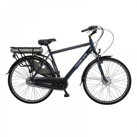 Hollandia Evado Nexus 3.19 Men's 700C Charcoal Electric Bicycle - Chargd Electric Bikes