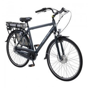 Hollandia Evado Nexus 3.21 Men's 700C Charcoal Electric Bicycle - Chargd Electric Bikes