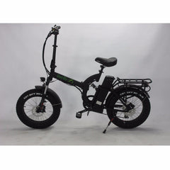 Image of Green Bike USA GB500 Fat Tire 500W 48V Folding Electric Bike