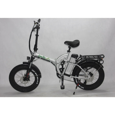 Green Bike USA GB500 Fat Tire 500W 48V Folding Electric Bike