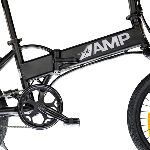 "Amp Errand 36V 250W 20"" Folding Electric Bicycle - Chargd Electric Bikes"