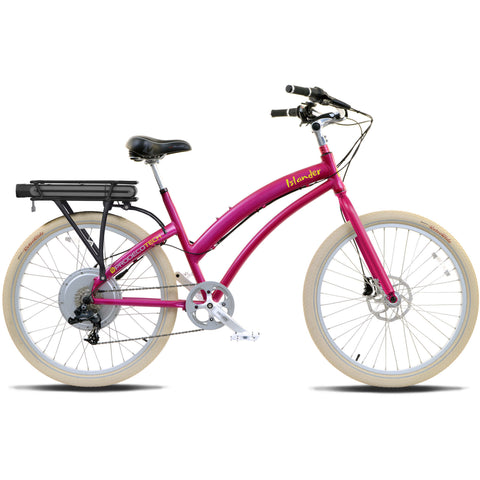 ProdecoTech Islander ST v5 Step-Through 36V 500W 8 Speed Electric Bicycle - Chargd Electric Bikes