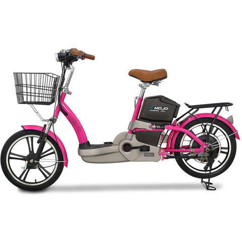 "Emojo E-1 48V 350W 18"" Electric Bicycle Scooter Hybrid - Chargd Electric Bikes"