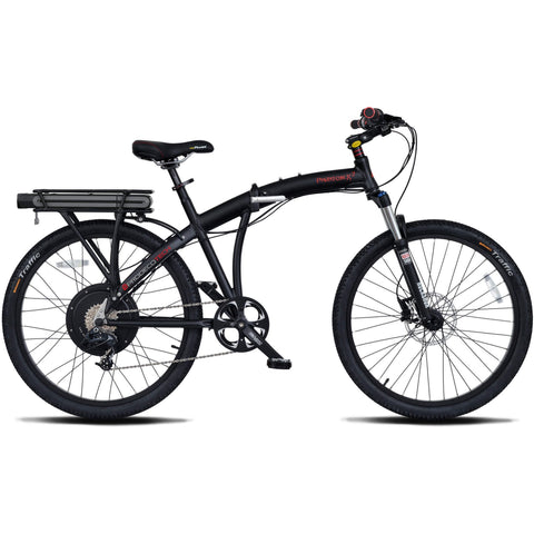 ProdecoTech Phantom X2 v5F 36V 500W 8 Speed Folding Electric Bicycle - Chargd Electric Bikes