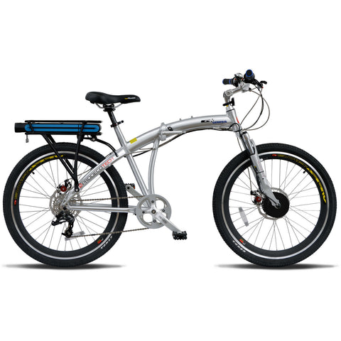 ProdecoTech Genesis 300 v5F Folding 36V 300W 8 Speed Electric Bicycle - Chargd Electric Bikes