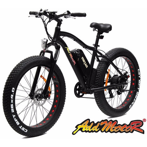 Addmotor MOTAN M550-P 48V 500W Fat Tire Electric Bicycle