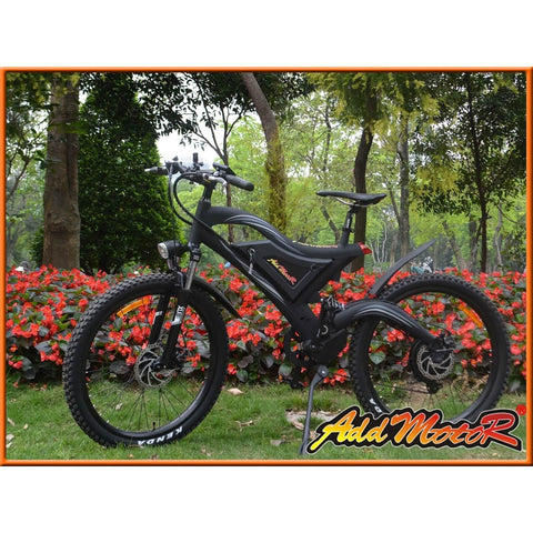 AddMotor HITHOT H2 Sport 48V 500W Electric Mountain Bicycle