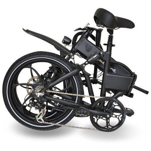 Joulvert Stealth Folding Electric Bicycle 36V 350W - Chargd Electric Bikes