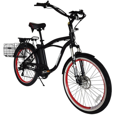 X-Treme Kona Beach 36V Beach Cruiser Electric Bicycle - Chargd Electric Bikes