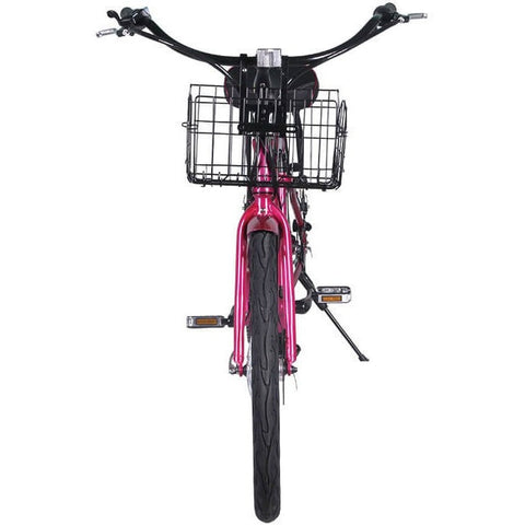 X-Treme Malibu 24V Beach Cruiser Step-Through Electric Bicycle - Chargd Electric Bikes