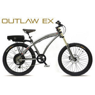 ProdecoTech OUTLAW EX v4 48V 750W 8 Speed Electric Bicycle - Chargd Electric Bikes