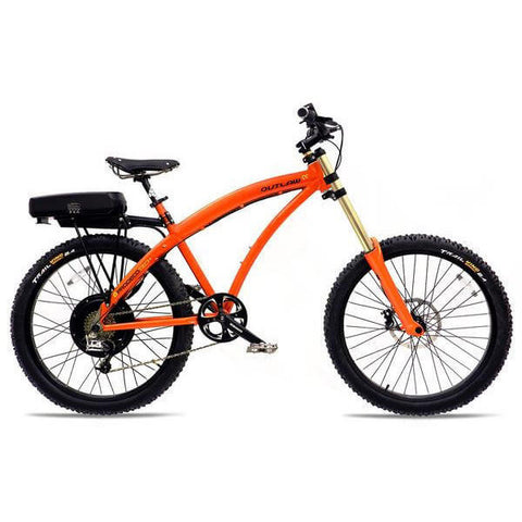ProdecoTech Outlaw SS v4 48V 750W 8 Speed Electric Bicycle - Chargd Electric Bikes