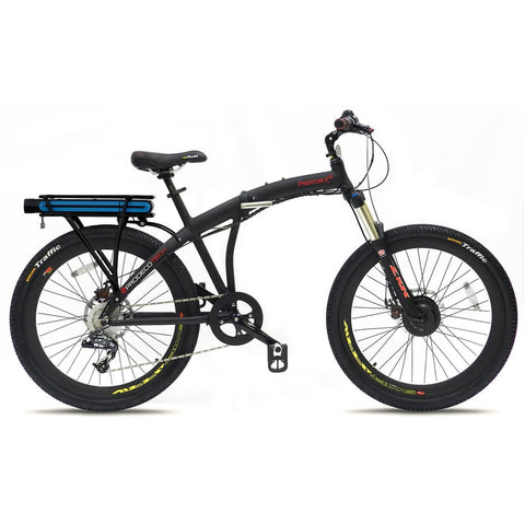 ProdecoTech Phantom X LI v5F 36V 300W 9 Speed Electric Bicycle - Chargd Electric Bikes