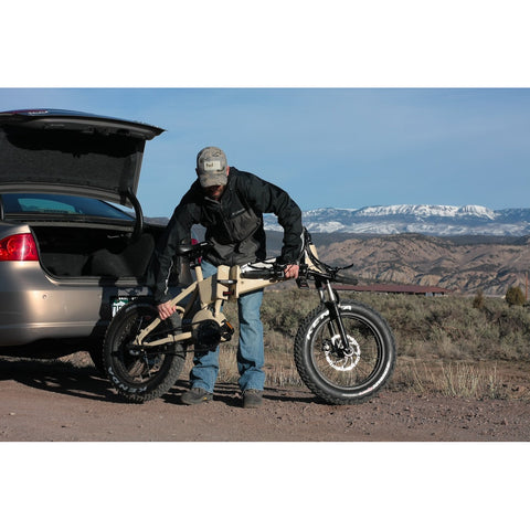 QuietKat FatKat 48V 750W Folding Electric Mountain Bike