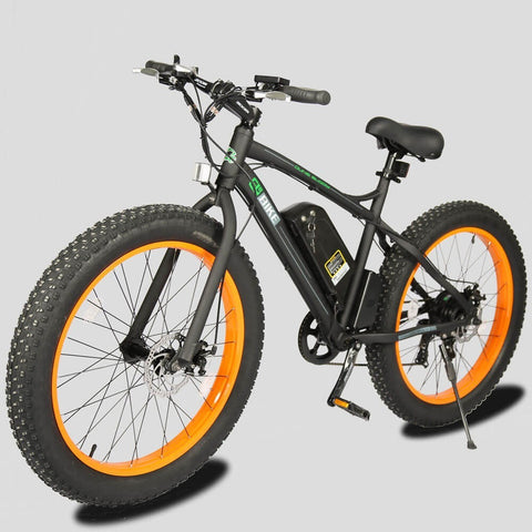 E-Go Bike Electric Fat Tire Bicycle Beach Snow 36V 500W - Chargd Electric Bikes