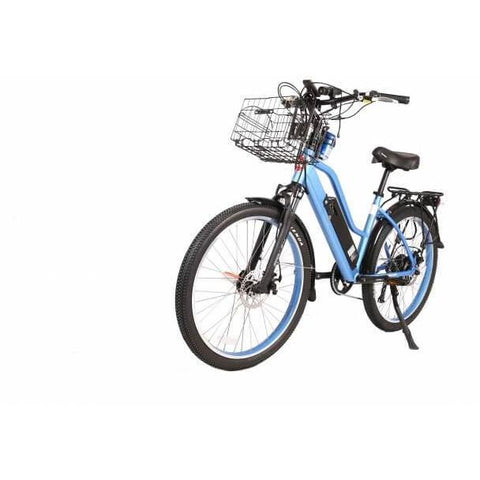 X-Treme Catalina 48V Blue Front Left Angle - Chargd Electric Bikes