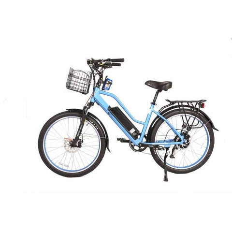 X-Treme Catalina 48V Blue Left Side - Chargd Electric Bikes