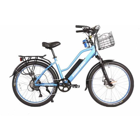 X-Treme Catalina 48V Blue Right Side - Chargd Electric Bikes