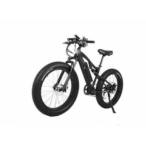 X-Treme Rocky Road Fat Tire 48V Left Angle - Chargd Electric Bikes
