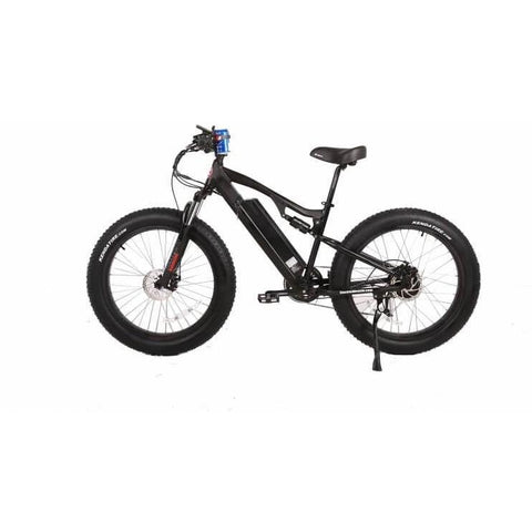 X-Treme Rocky Road Fat Tire 48V Left Side - Chargd Electric Bikes