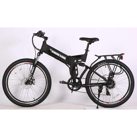 X-Treme X-Cursion Elite Black Side View - Chargd Electric Bikes