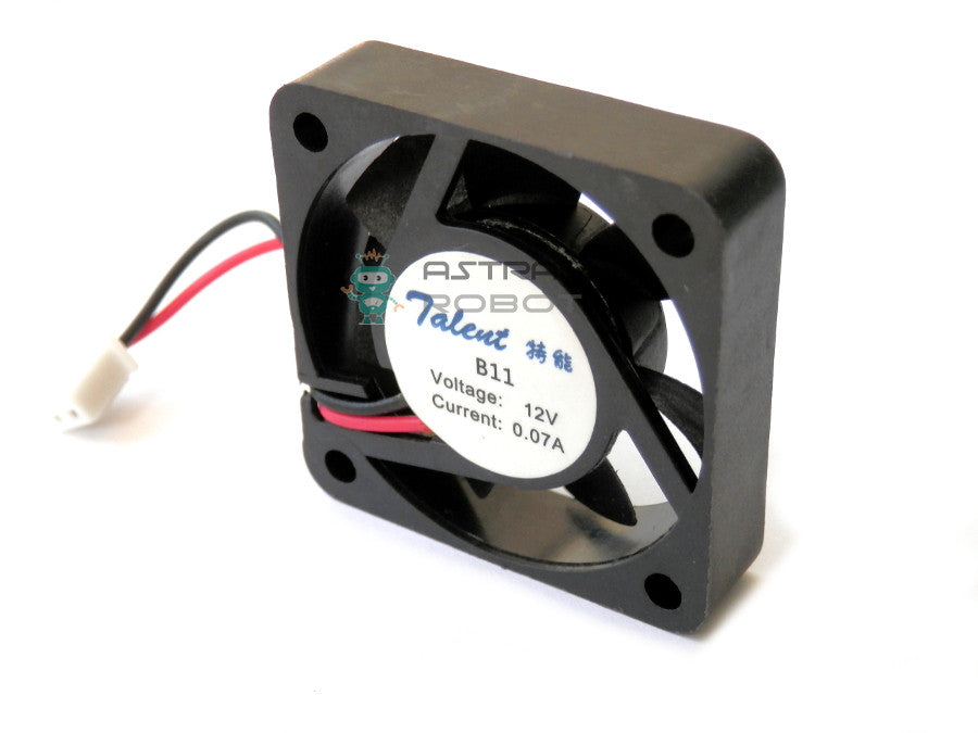 12V Axial Small Cooler Fan 40x40x10 mm
