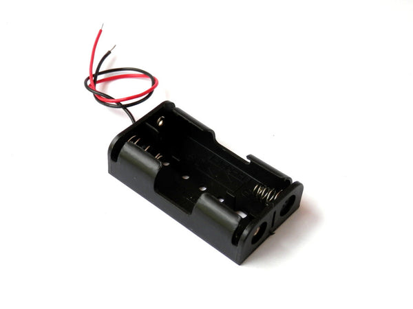 2 x AA Battery Holder Case 3V