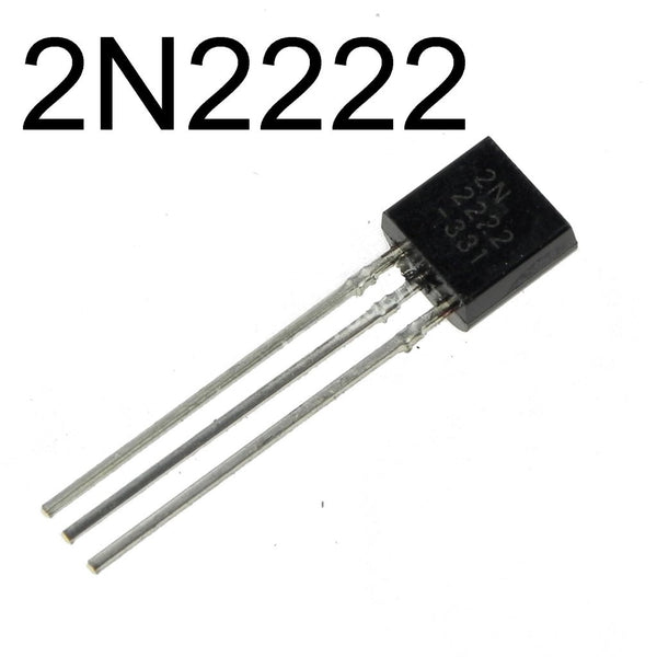 10 Pack General Purpose NPN Transistor TO-92 2N2222A