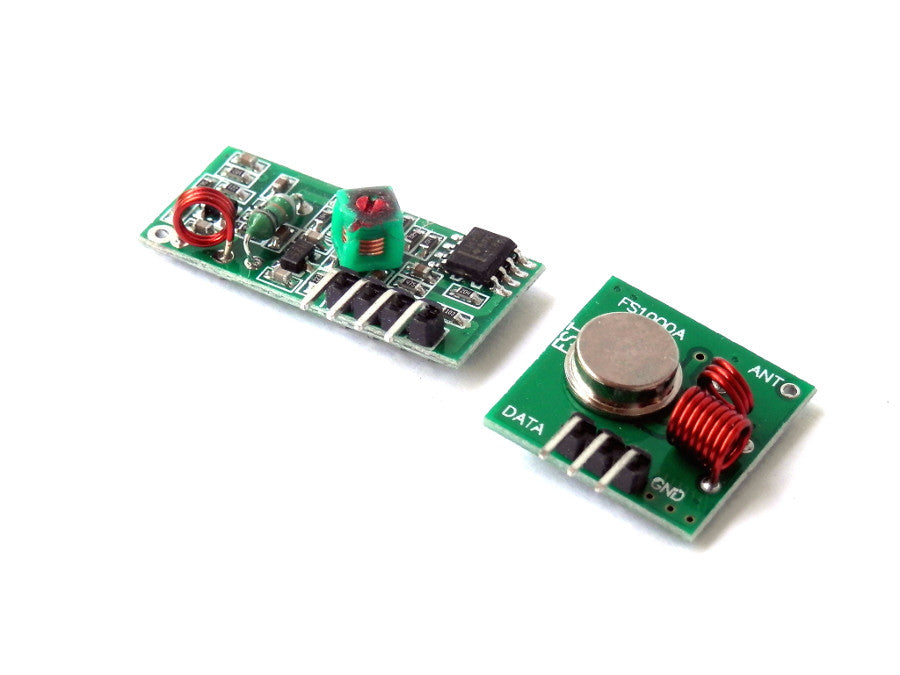 TX + RX Wireless Transmitting Module 433MHz FS1000A