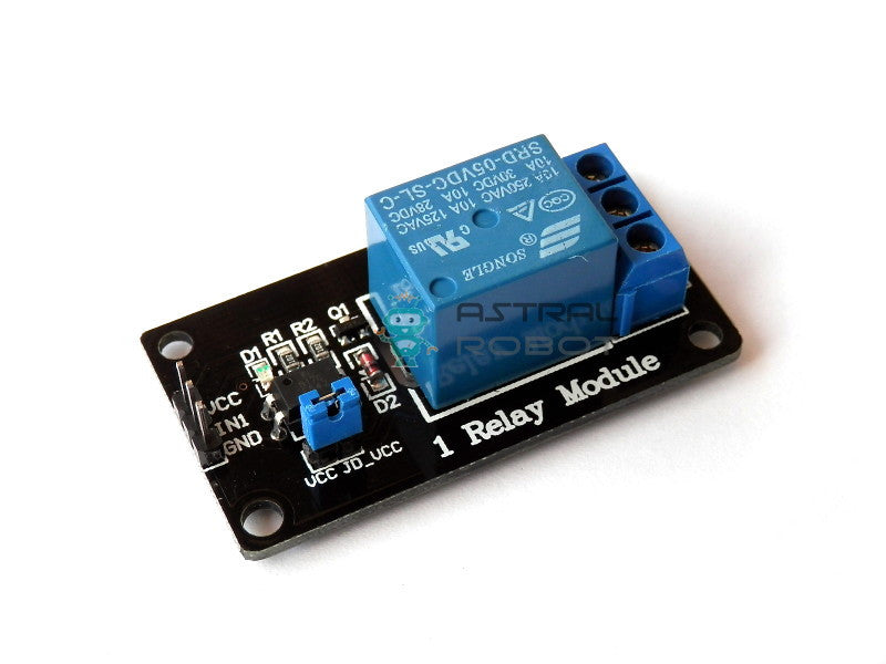 5V 1 Channel Relay Module With Optocoupler