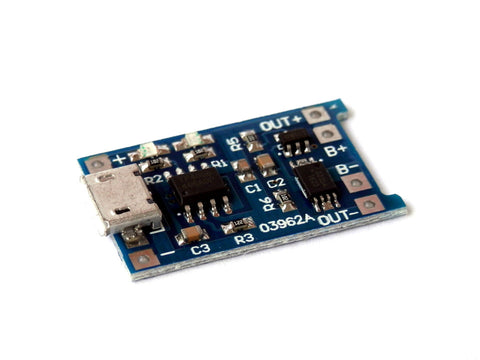 Micro USB 5V 1A Lithium Battery Charging Module