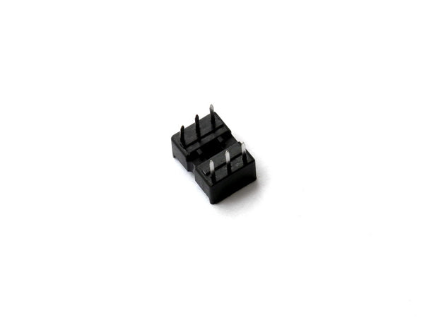 2 PACK 6 Pin DIP IC Socket Adaptor