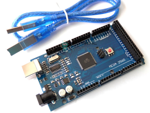 Arduino Compatible MEGA 2560 R3 with USB Cable