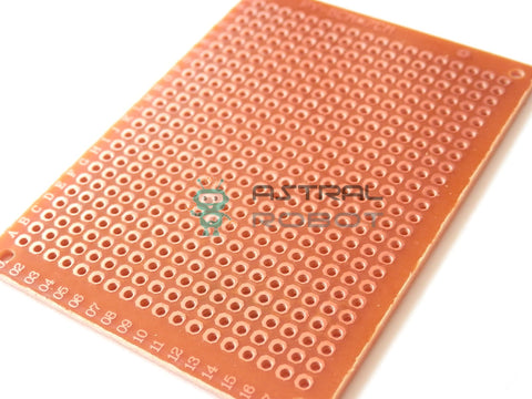 2 Pack - DIY Universal Prototype PCB Board Single Side Copper 5 x 7 cm