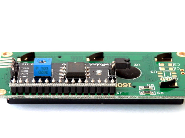 LCD Display 1602 16x2 with I2C Serial Interface Module