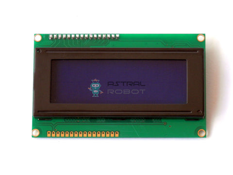 LCD Display Module 2004 20x4 with I2C Serial Interface Module
