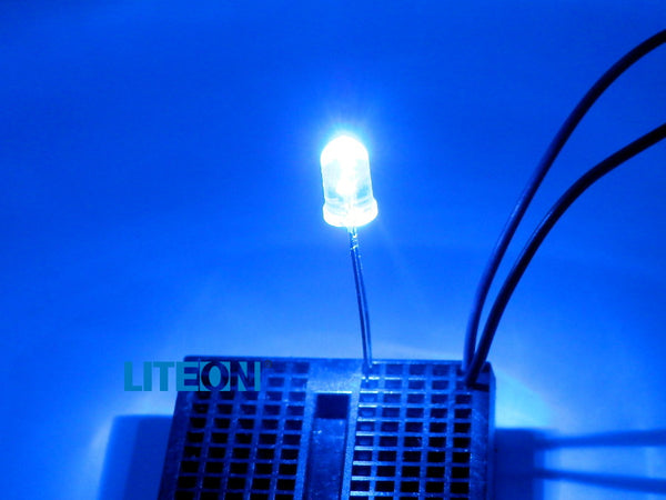 10 PACK LED 5mm Blue Water Clear Ultra Bright